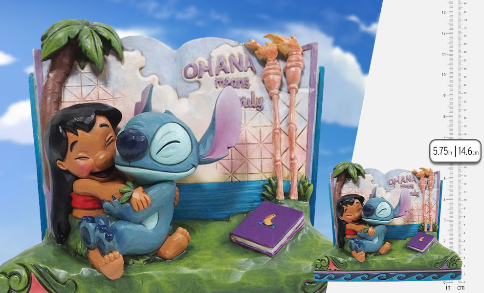 Gallery Feature Image of Lilo & Stitch Story Book Figurine - Click to open image gallery