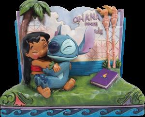Lilo & Stitch Story Book Figurine