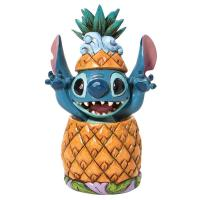 Gallery Image of Stitch in a Pineapple Figurine