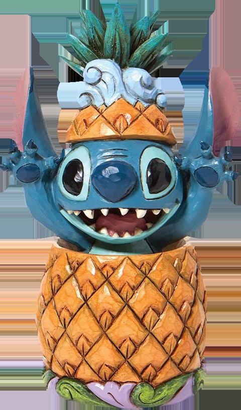 Enesco, LLC Stitch in a Pineapple Figurine