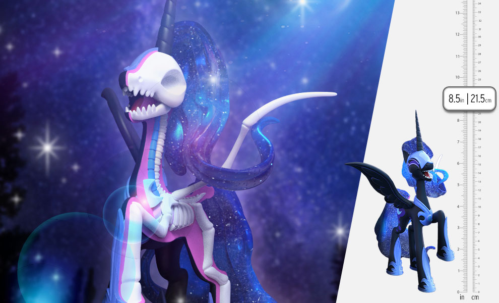 Gallery Feature Image of XXRAY Plus: Nightmare Moon Vinyl Collectible - Click to open image gallery
