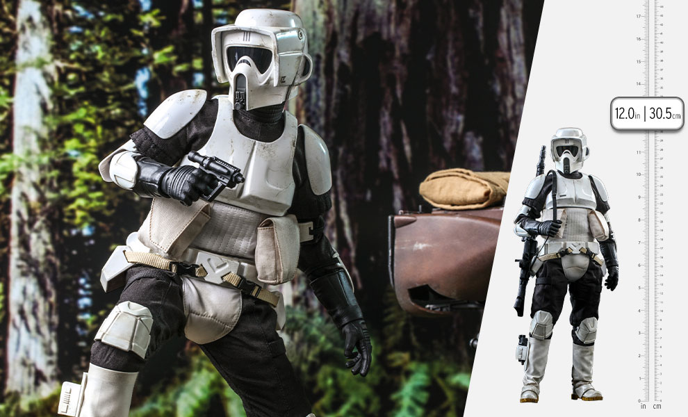 Gallery Feature Image of Scout Trooper™ Sixth Scale Figure - Click to open image gallery