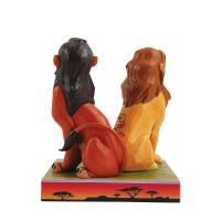 Gallery Image of Simba and Scar Figurine