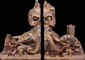 Octonium Mechanical Octopus Bookends Office Supplies