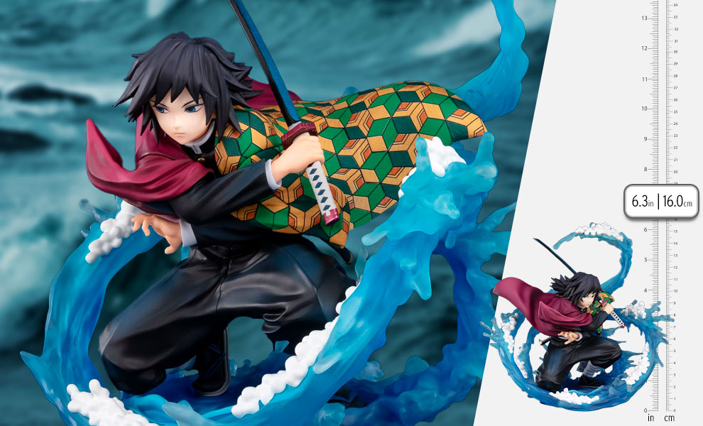 Gallery Feature Image of Tomioka Giyu - Water Breathing Collectible Figure - Click to open image gallery