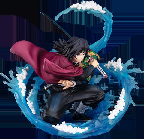 Bandai Tomioka Giyu - Water Breathing Collectible Figure