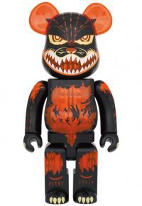 Gallery Image of Be@rbrick Godzilla (Meltdown: Clear Orange Version) 100% and 400% Bearbrick