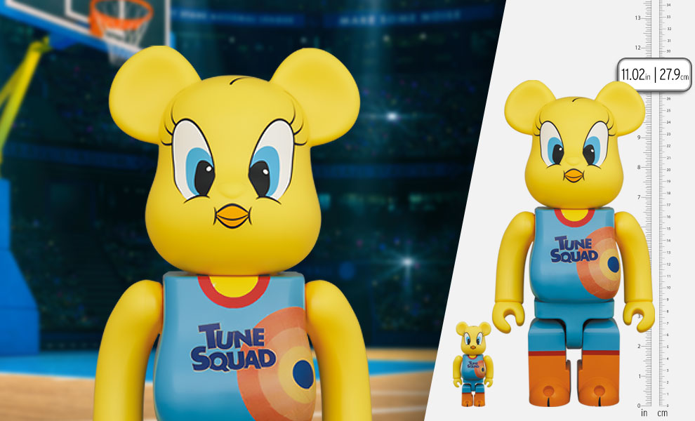 Gallery Feature Image of Be@rbrick Tweety 100% and 400% Bearbrick - Click to open image gallery