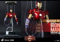 Gallery Image of Iron Man Mark III (Construction Version) Sixth Scale Figure