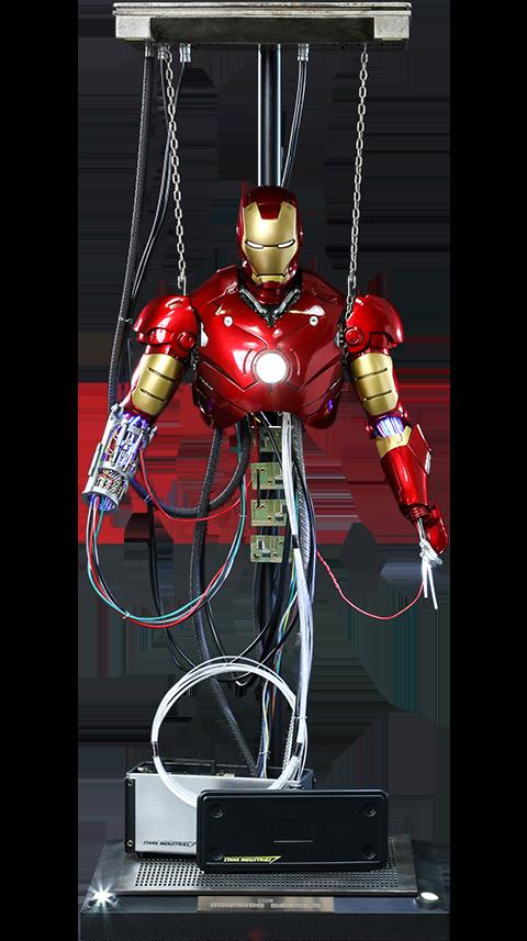 Hot Toys Iron Man Mark III (Construction Version) Sixth Scale Figure