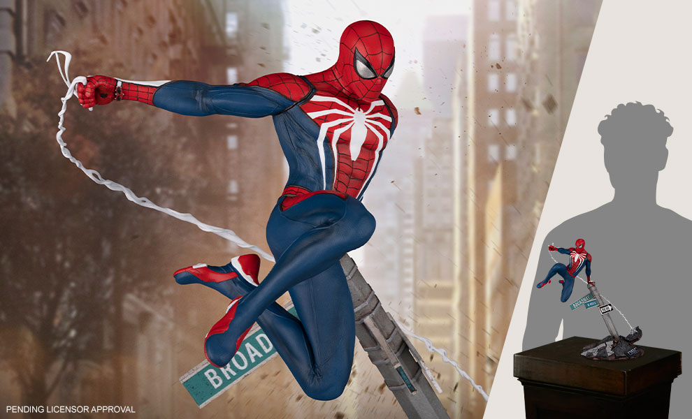 Gallery Feature Image of Spider-Man: Advanced Suit Sixth Scale Diorama - Click to open image gallery