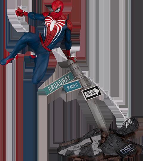 PCS Spider-Man: Advanced Suit Sixth Scale Diorama