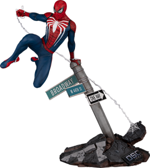 Spider-Man: Advanced Suit Sixth Scale Diorama