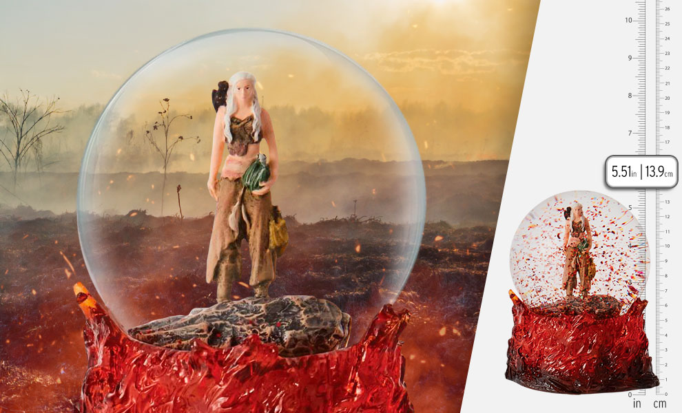 Gallery Feature Image of Mother of Dragons Waterglobe Resin Collectible - Click to open image gallery