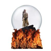Gallery Image of Mother of Dragons Waterglobe Resin Collectible