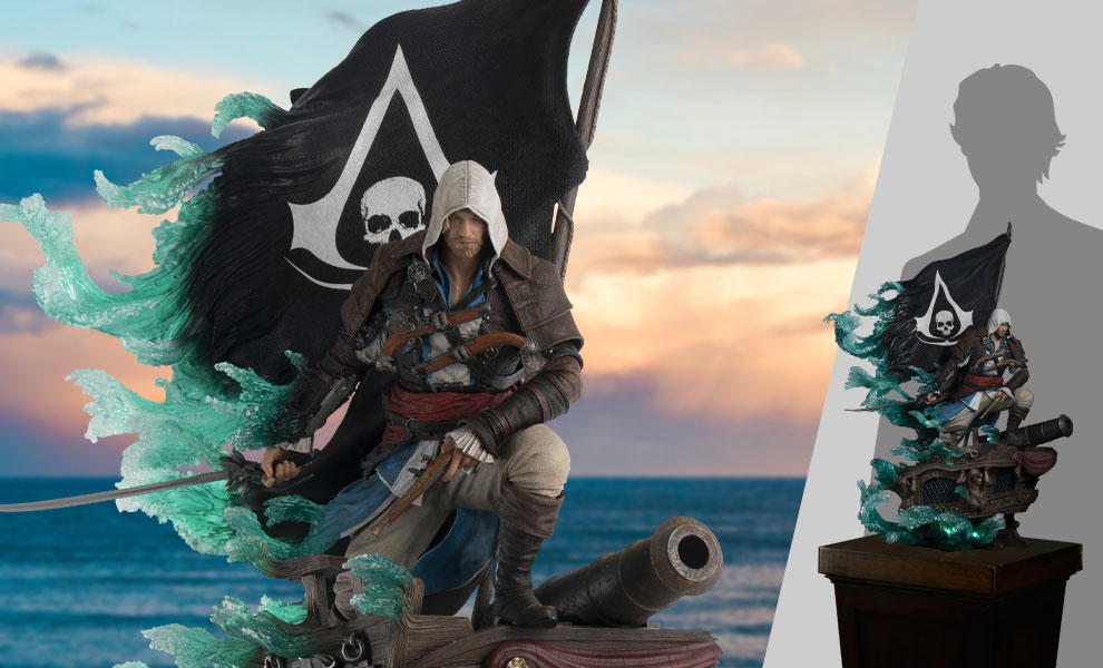 Gallery Feature Image of Captain Edward Kenway Statue - Click to open image gallery
