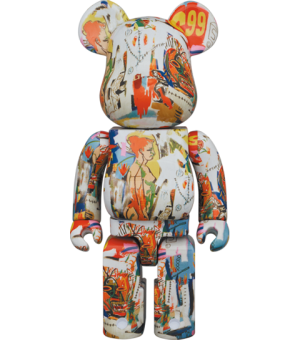 Be@rbrick Andy Warhol x JEAN-MICHEL BASQUIAT #4 400% Bearbrick
