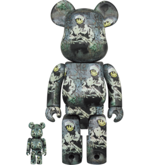 Be@rbrick Riot Cop 100% and 400% Bearbrick