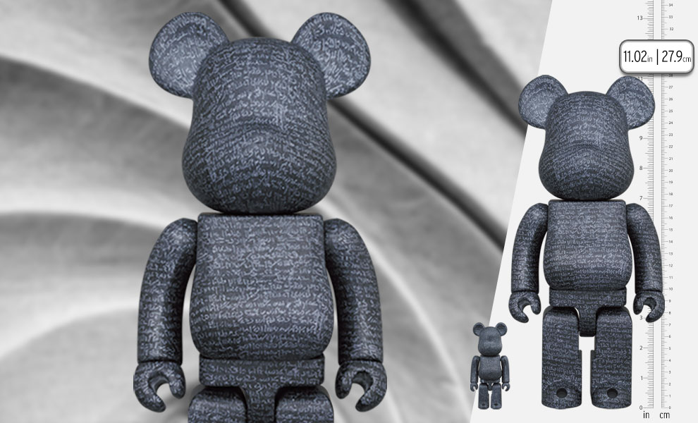 Gallery Feature Image of Be@rbrick The Rosetta Stone 100% and 400% Bearbrick - Click to open image gallery