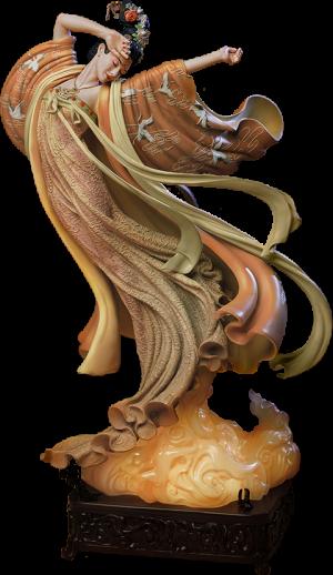 The Flying Princess Crane Statue Elite Statue