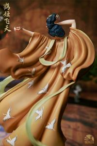 Gallery Image of The Flying Princess Crane Statue Deluxe Statue