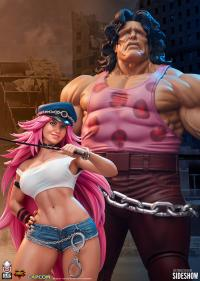 Gallery Image of Mad Gear Exclusive Hugo and Poison Set Statue