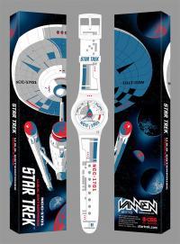 Gallery Image of Star Trek U.S.S. Enterprise White Watch Jewelry