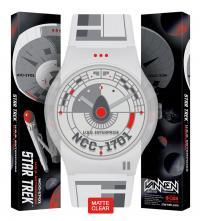 Gallery Image of Star Trek U.S.S. Enterprise Clear Watch Jewelry