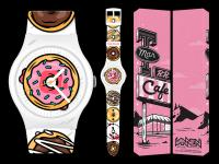 Gallery Image of Twin Peaks Donut Limited Edition Watch Jewelry