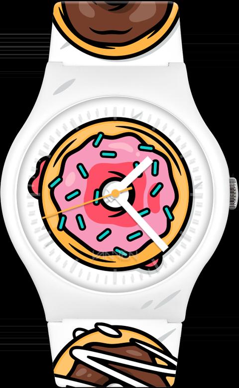 Vannen Twin Peaks Donut Limited Edition Watch Jewelry