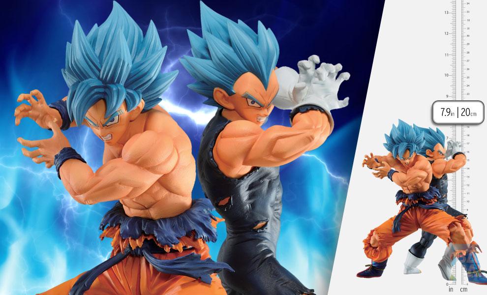 Gallery Feature Image of Super Saiyan God Super Saiyan Son Goku & Vegeta (Vs Omnibus Super) Statue - Click to open image gallery