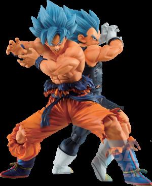 Super Saiyan God Super Saiyan Son Goku & Vegeta (Vs Omnibus Super) Statue