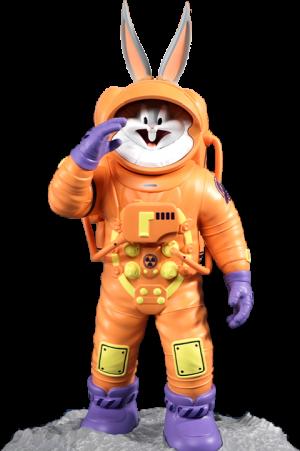 Bugs Bunny Astronaut Statue