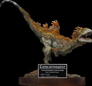 Concavenator Statue