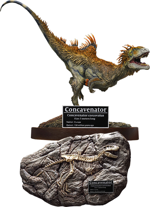 Star Ace Toys Ltd. Concavenator Deluxe Statue