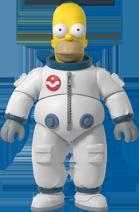 Super 7 Deep Space Homer Figure