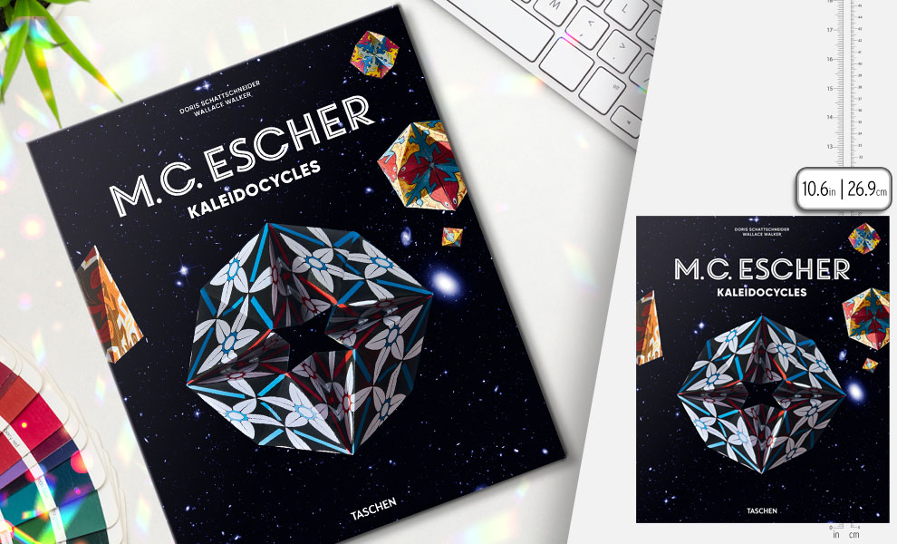 Gallery Feature Image of M.C. Escher. Kaleidocycles Book - Click to open image gallery