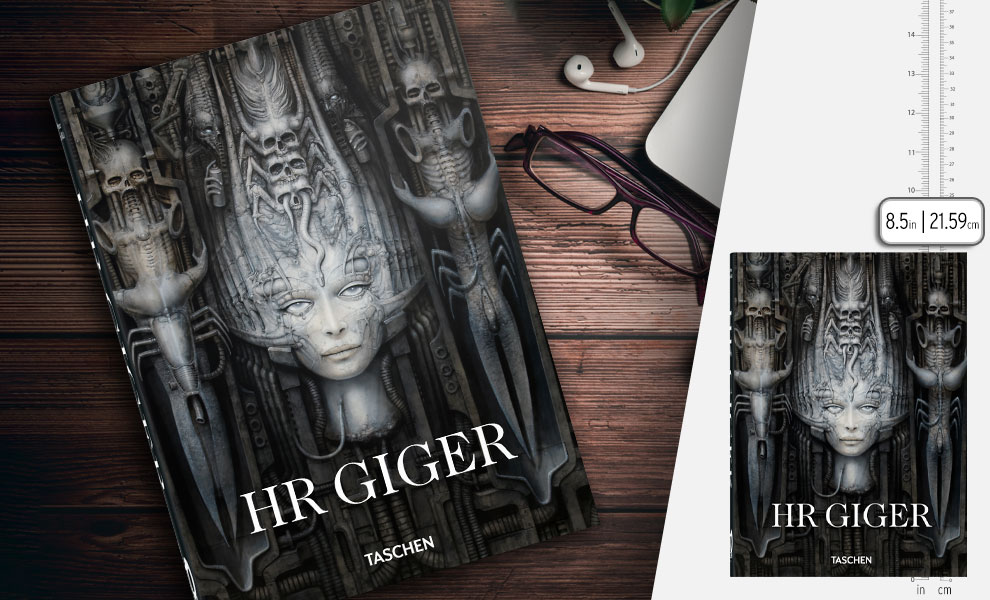 Gallery Feature Image of HR Giger. 40th Ed. Book - Click to open image gallery