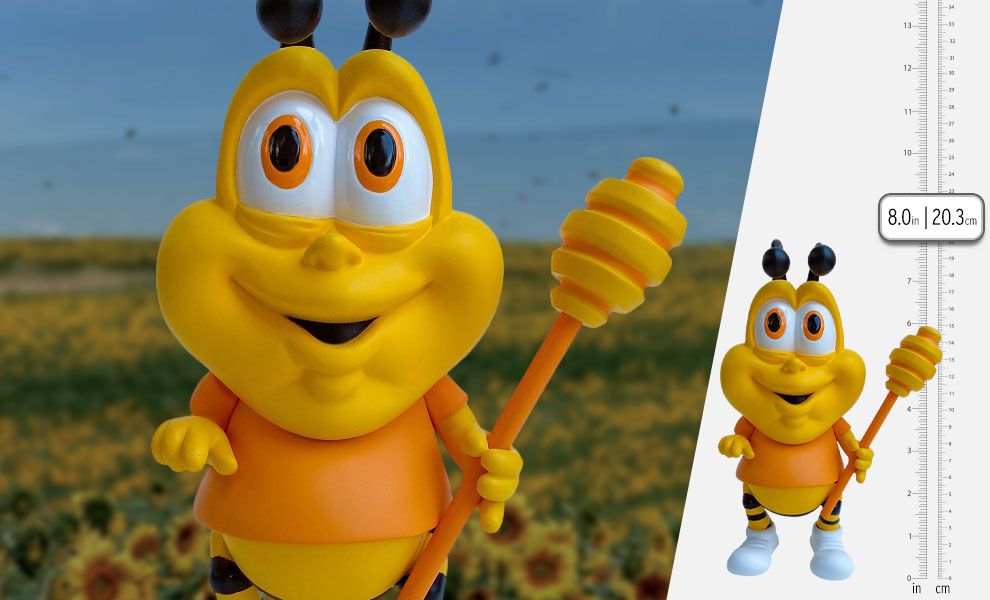 Gallery Feature Image of Honey Butt the Obese Bee Vinyl Collectible - Click to open image gallery