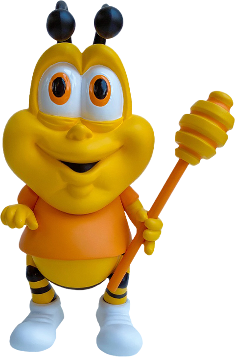 Ron English Honey Butt the Obese Bee Vinyl Collectible