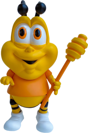 Honey Butt the Obese Bee Vinyl Collectible