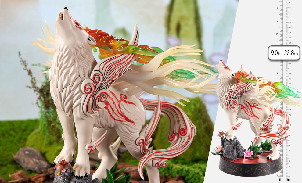 Gallery Feature Image of Shiranui (Celestial Howl) Statue - Click to open image gallery