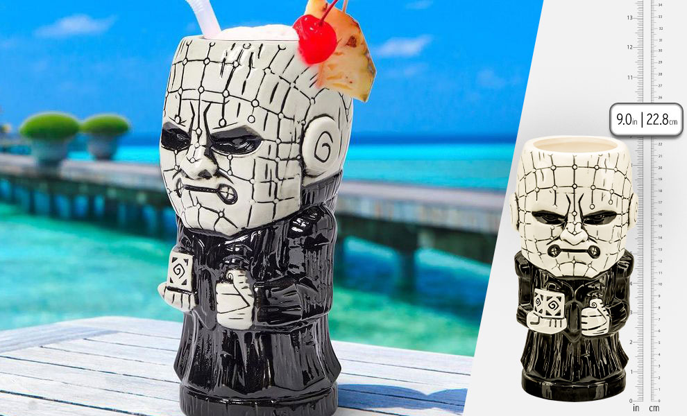 Gallery Feature Image of Pinhead Tiki Mug - Click to open image gallery