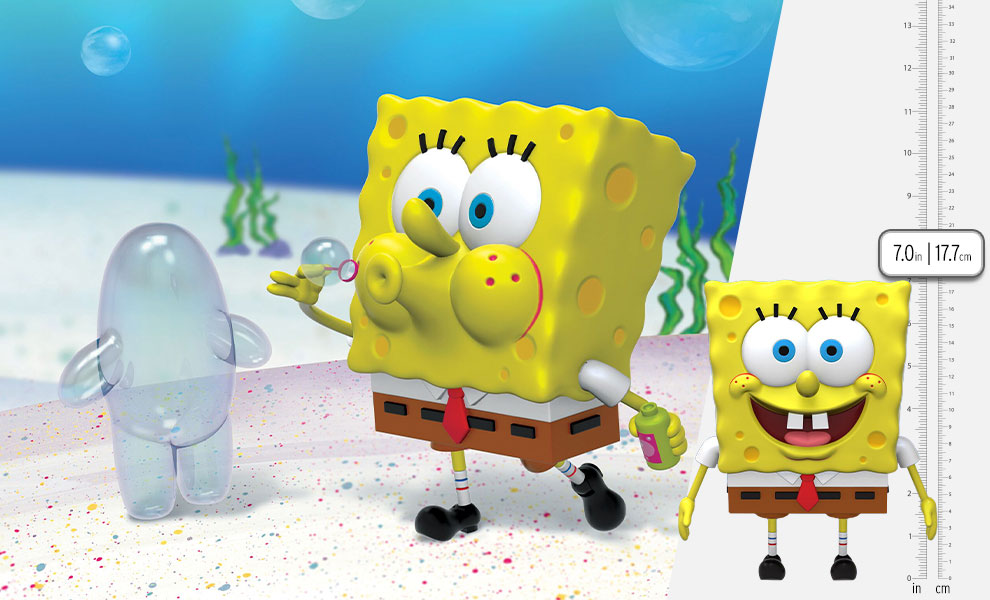 Gallery Feature Image of Spongebob Squarepants Action Figure - Click to open image gallery