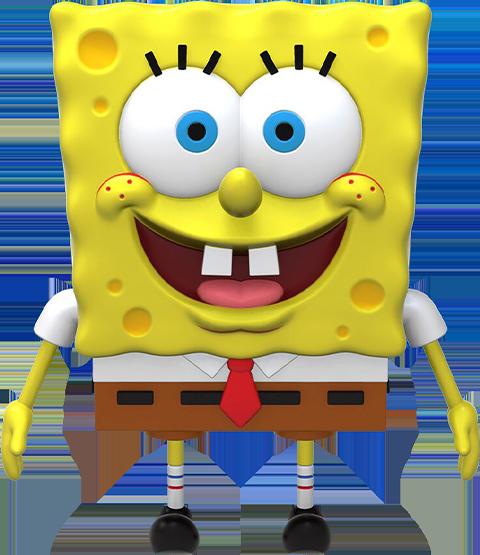 Super 7 Spongebob Squarepants Action Figure