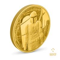 Gallery Image of The Mandalorian™ ¼ oz Gold Coin Gold Collectible