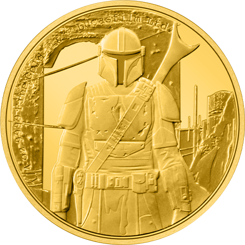 New Zealand Mint The Mandalorian™ ¼ oz Gold Coin Gold Collectible