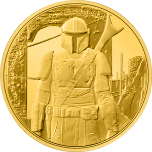 The Mandalorian™ ¼ oz Gold Coin Gold Collectible