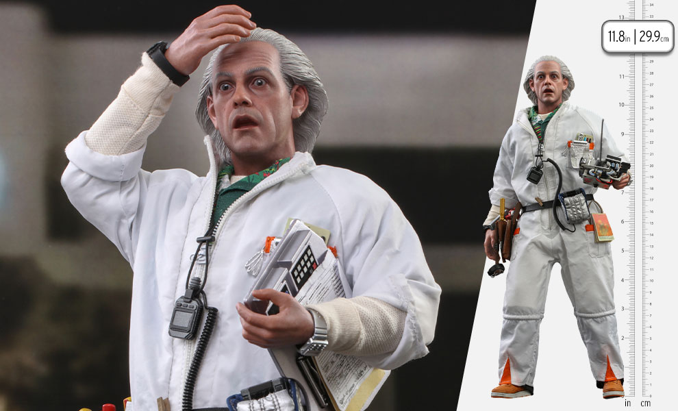 Gallery Feature Image of Doc Brown Sixth Scale Figure - Click to open image gallery
