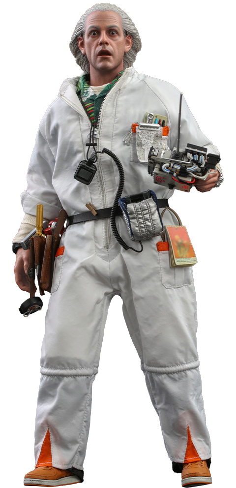 Hot Toys Doc Brown Sixth Scale Figure